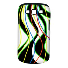 Colorful lines - abstract art Samsung Galaxy S III Classic Hardshell Case (PC+Silicone)
