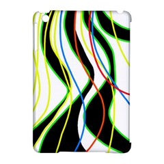 Colorful lines - abstract art Apple iPad Mini Hardshell Case (Compatible with Smart Cover)