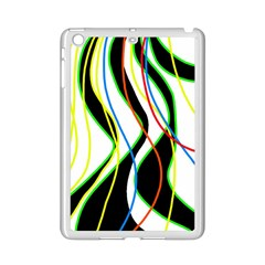 Colorful lines - abstract art iPad Mini 2 Enamel Coated Cases