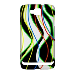 Colorful lines - abstract art Samsung Ativ S i8750 Hardshell Case