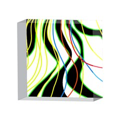 Colorful lines - abstract art 4 x 4  Acrylic Photo Blocks