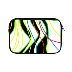 Colorful lines - abstract art Apple iPad Mini Zipper Cases
