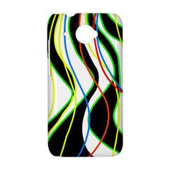 Colorful lines - abstract art HTC Desire 601 Hardshell Case