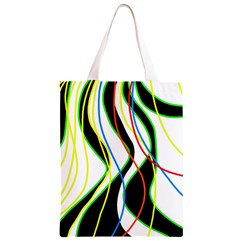 Colorful lines - abstract art Classic Light Tote Bag