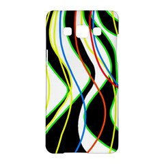 Colorful lines - abstract art Samsung Galaxy A5 Hardshell Case