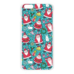 Cute Christmas Seamless Pattern Vector Apple Seamless iPhone 6 Plus/6S Plus Case (Transparent)