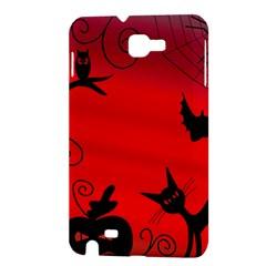 Halloween landscape Samsung Galaxy Note 1 Hardshell Case
