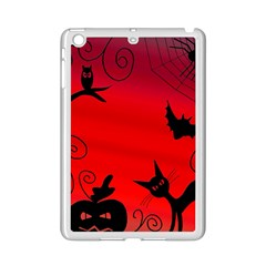 Halloween landscape iPad Mini 2 Enamel Coated Cases