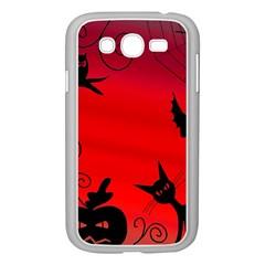 Halloween landscape Samsung Galaxy Grand DUOS I9082 Case (White)