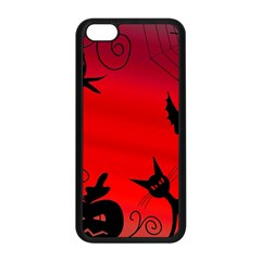 Halloween landscape Apple iPhone 5C Seamless Case (Black)