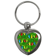 Parrots Flock Key Chains (Heart)