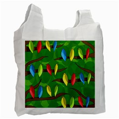 Parrots Flock Recycle Bag (One Side)