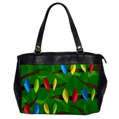 Parrots Flock Office Handbags