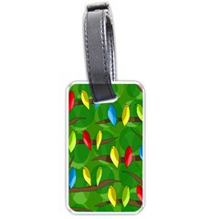 Parrots Flock Luggage Tags (One Side)