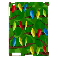 Parrots Flock Apple iPad 2 Hardshell Case (Compatible with Smart Cover)