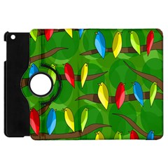 Parrots Flock Apple iPad Mini Flip 360 Case