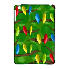 Parrots Flock Apple iPad Mini Hardshell Case (Compatible with Smart Cover)
