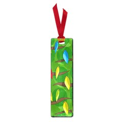 Parrots Flock Small Book Marks