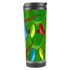 Parrots Flock Travel Tumbler