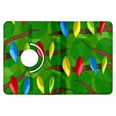 Parrots Flock Kindle Fire HDX Flip 360 Case