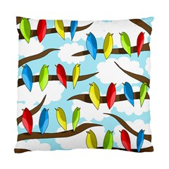 Parrots flock Standard Cushion Case (Two Sides)