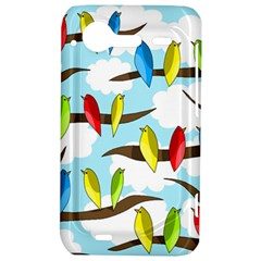 Parrots flock HTC Incredible S Hardshell Case
