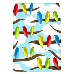 Parrots flock Flap Covers (S)
