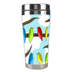 Parrots flock Stainless Steel Travel Tumblers