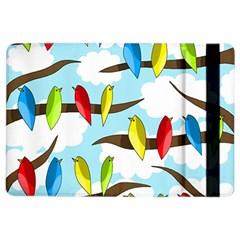 Parrots flock iPad Air 2 Flip