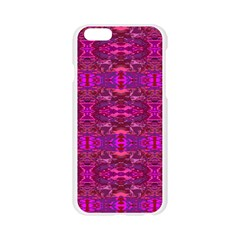 Fabric Design Pattern Color Apple Seamless iPhone 6/6S Case (Transparent)