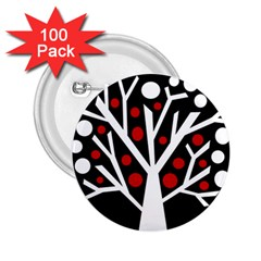 Simply decorative tree 2.25  Buttons (100 pack)