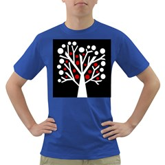 Simply decorative tree Dark T-Shirt