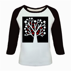 Simply decorative tree Kids Baseball Jerseys