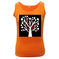 Simply decorative tree Women s Dark Tank Top