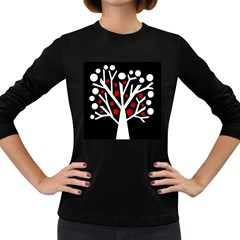 Simply decorative tree Women s Long Sleeve Dark T-Shirts