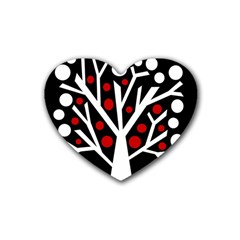 Simply decorative tree Heart Coaster (4 pack)