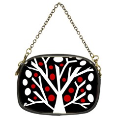 Simply decorative tree Chain Purses (Two Sides)