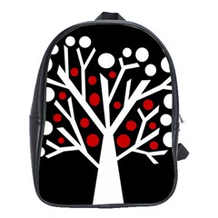 Simply decorative tree School Bags(Large)