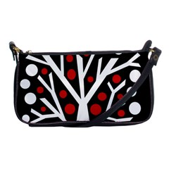 Simply decorative tree Shoulder Clutch Bags