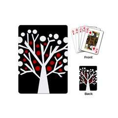 Simply decorative tree Playing Cards (Mini)