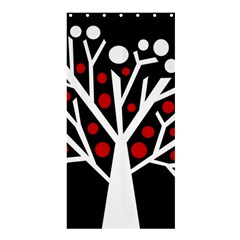 Simply decorative tree Shower Curtain 36  x 72  (Stall)