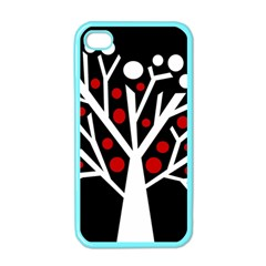 Simply decorative tree Apple iPhone 4 Case (Color)