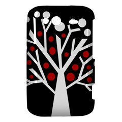 Simply decorative tree HTC Wildfire S A510e Hardshell Case