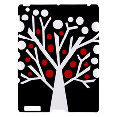 Simply decorative tree Apple iPad 3/4 Hardshell Case