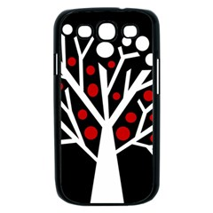 Simply decorative tree Samsung Galaxy S III Case (Black)