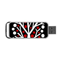 Simply decorative tree Portable USB Flash (One Side)