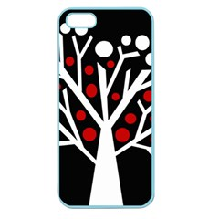 Simply decorative tree Apple Seamless iPhone 5 Case (Color)
