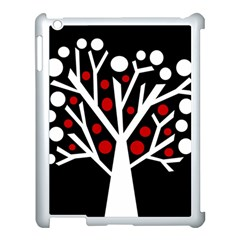 Simply decorative tree Apple iPad 3/4 Case (White)