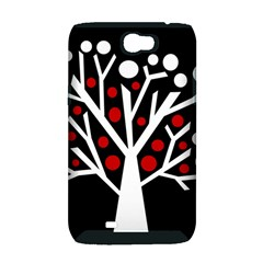 Simply decorative tree Samsung Galaxy Note 2 Hardshell Case (PC+Silicone)