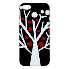 Simply decorative tree Apple iPhone 5 Premium Hardshell Case